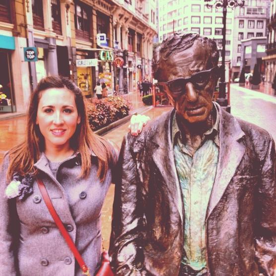 Con Woody Allen por las calles de Oviedo
